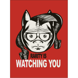 File:Rarity-is-watching-you-poster-6280 preview.png