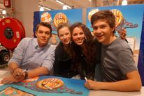 Gerrit, Carola, Fan and Patrick (Autograph session in the Netherlands)