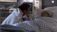 Mie og Albert på sykehuset