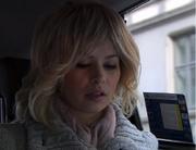 Katrine i taxi