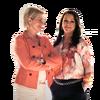 Sigrid Uldahl og Monica Nyman