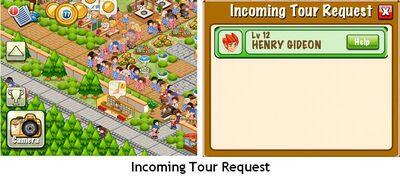 Incoming Tour