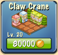 Claw Crane Facility