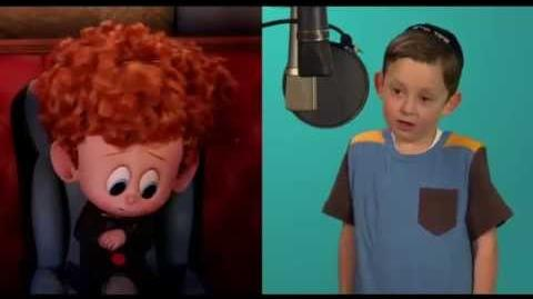 Hotel Transylvania 2 - Asher Blinkoff behind the scenes