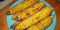 Roasted Corn with Parmesan and Cayenne Pepper by BusyMom123