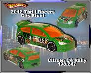 2012 Thrill Racers-City Stunt Citroen C4 Rally