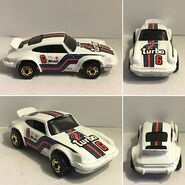 Porsche P-911 (Martini racing) Metal base, and GLO