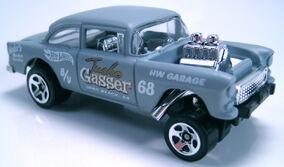55 Chevy Bel Air Gasser HW showroom 2013