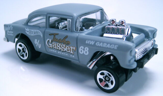 File:55 Chevy Bel Air Gasser HW showroom 2013.JPG