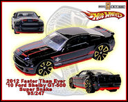 2012 Faster Than Ever 10 Ford Shelby GT-500 Super Snake 95-247
