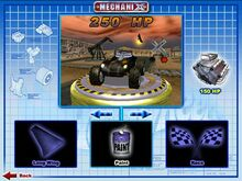 Cat-A-Pult was Playable in Hot wheels mechanix PC 2001 Original game colors