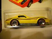 Flying Customs Corvette Stingray Yellow
