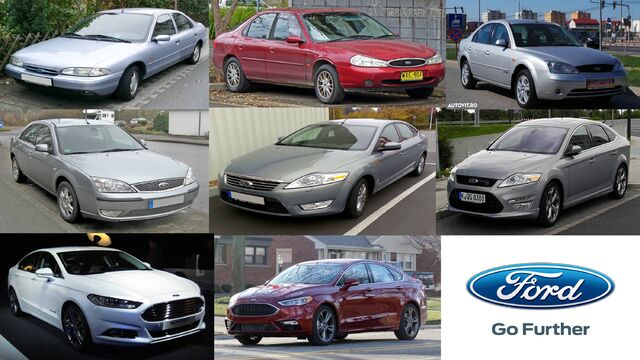 File:Ford Mondeo Evolution 1992-2017.jpg