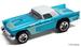 57 ford thunderbird teal 2011 decades