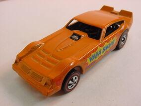 Vega Bomb 1974 Cap front Orange