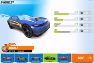D-Muscle On Hot Wheels Race Off Android IOS