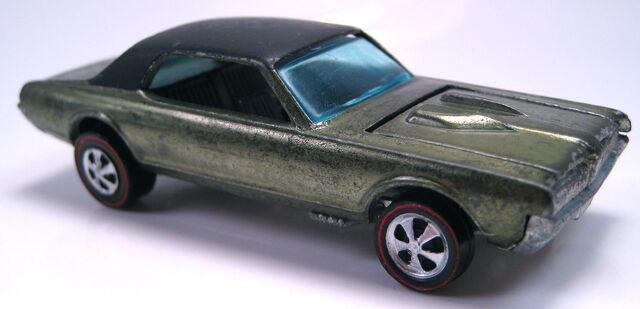 File:Custom Cougar Olive with black roof.JPG