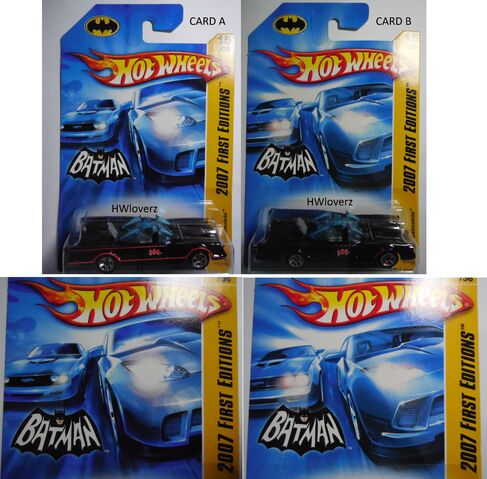 File:2007 First Editions TV Batmobile CARDS A and B.jpg
