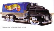 Canvas Back Truck