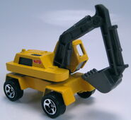 Hot Wheels Construction Action Pack Excavator