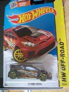 '12 Ford Fiesta burgandy