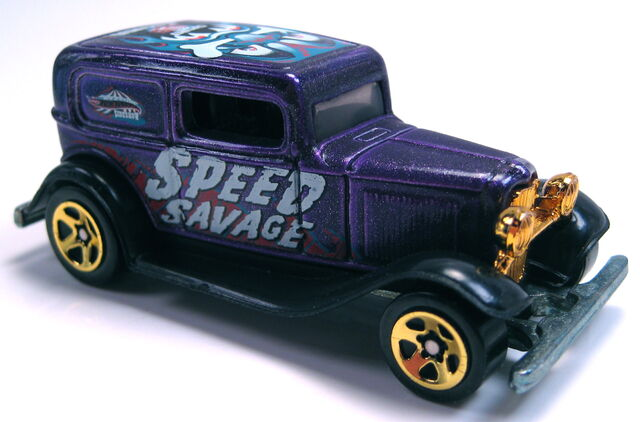 File:'32 Ford Delivery purple Side Show 5-pack 2002.JPG