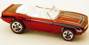 ClassicsRed - 69 Camaro Conv