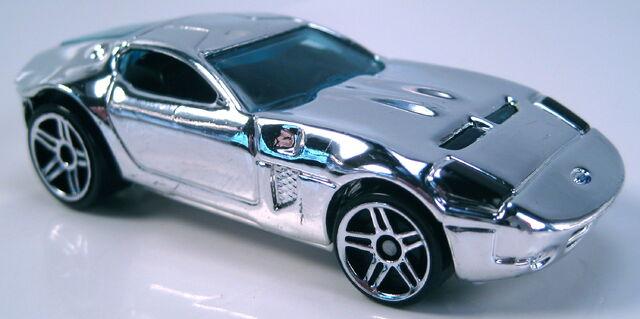 File:Ford Shelby GR-1 Concept chrome 2005 FE black interior chrome base.JPG