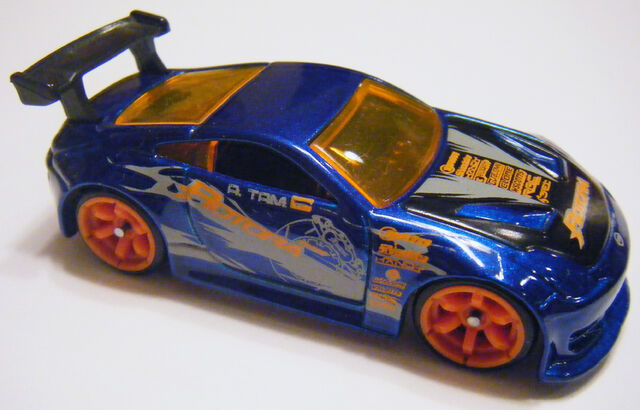 File:Nissan Z - 06FE Blue w Orange CM6.jpg