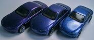 Lexus SC400 color variations