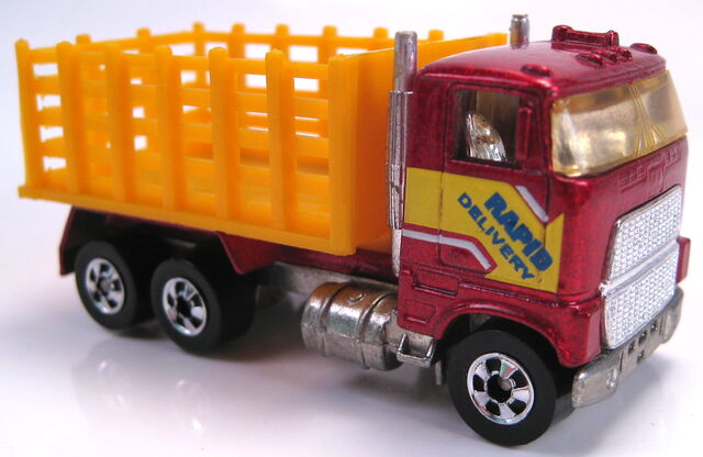 File:Ford Stake bed Truck red metallic BW Mal base 1986.JPG