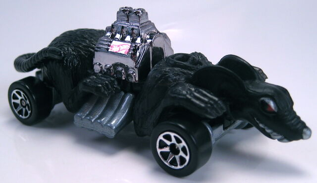 File:Ratmobile black painted base 7sp wheels.JPG