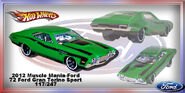 2012 Muscle Mania-Ford 72 Ford Gran Torino Sport