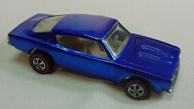 Custom Barracuda USA blue 1968 white Int