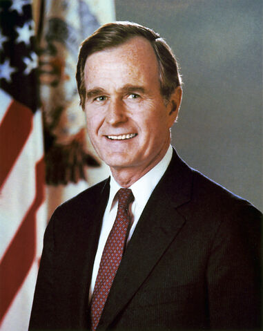 File:George H. W. Bush, President of the United States, official portrait.jpg
