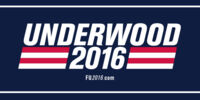Frank Underwood presidential campaign, 2016