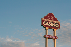 Cat R. Waul's Casino sign