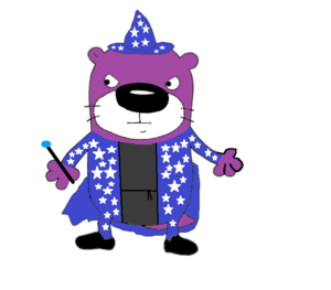 Pen the Wizard Otter