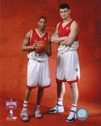 Tracy-McGrady-And-Yao-Ming-Photograph-C12876440