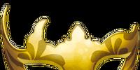Yellow Carnival Mask