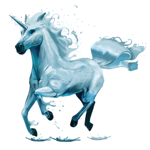File:5th Element Unicorn - Water.png