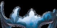 Blue Carnival Mask