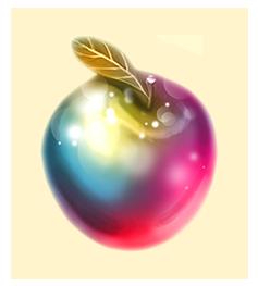 Vintage-Apfel