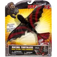 How To Train Your Dragon 2 Real Flying Racing Toothless with Stripes