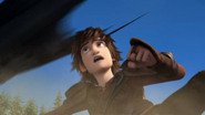 Hiccup watch after Toothless