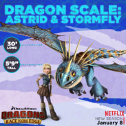 Dragon scale Astrid and Stormfly