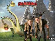 DRAGONS Wallpaper RuffTuff 2 800x600-1-
