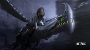 Razorwhip and rider