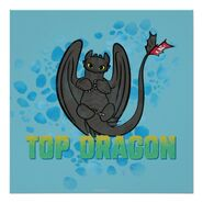 Top Dragon Poster