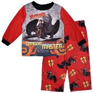 Dragon Master 2pc Toddler Boys Pajama Set Flame Resistant